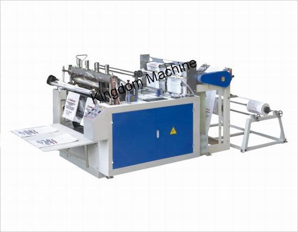 Máquina para hacer bolsas de línea doble