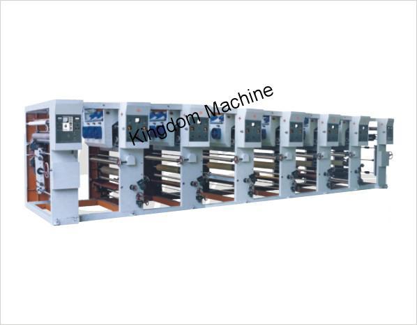 Máquina impresora de rotograbado de alta velocidad